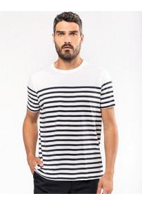 Multisprint - Marine-t-shirt ronde hals Bio heren